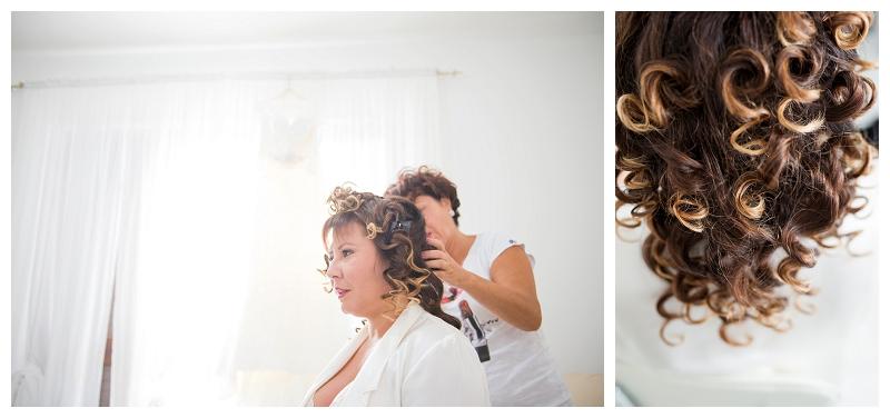 Wedding Hairstyle Sardinia