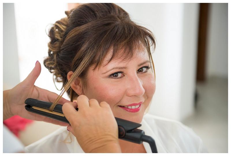 Wedding Hairstyle Oristano Sardinia