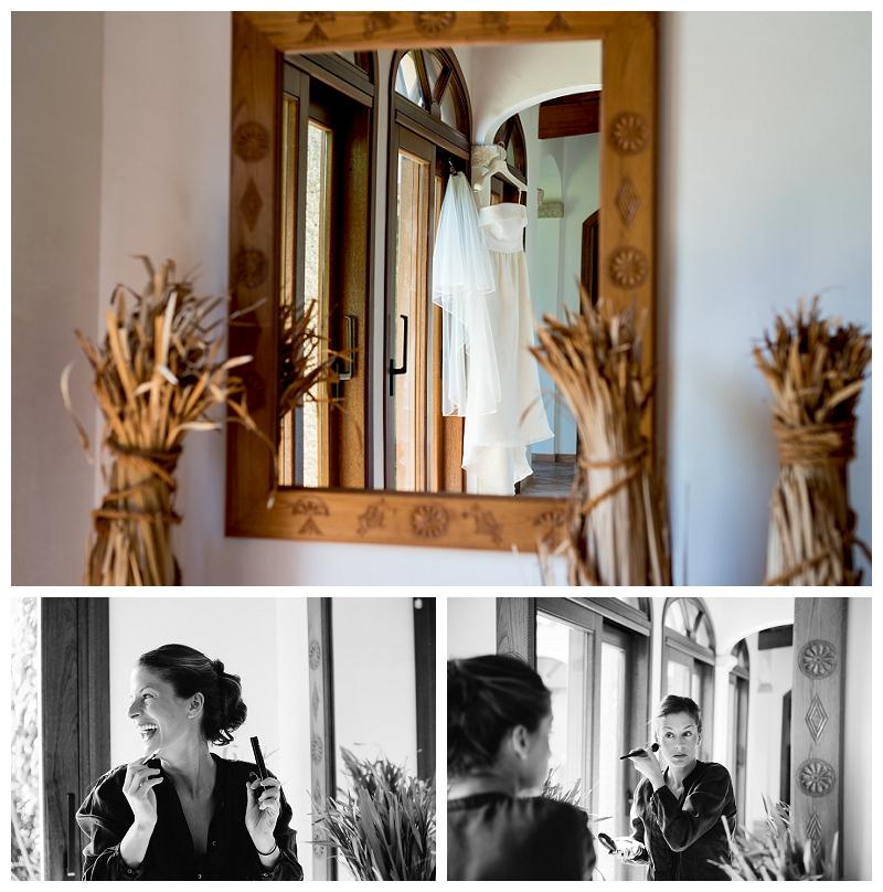 Photo Bride Getting Ready Sardinia