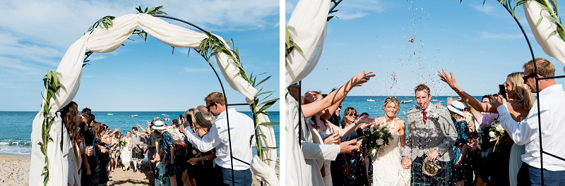 Beach Wedding Cala Luna Dorgali