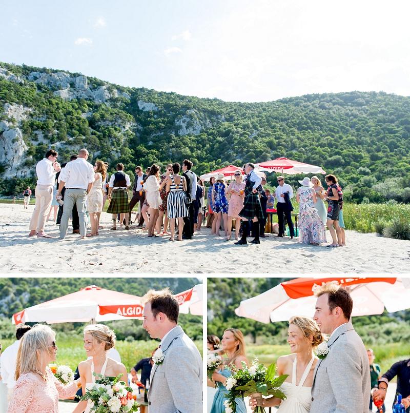 Exclusive Beach Wedding Cala Luna Dorgali Sardinia