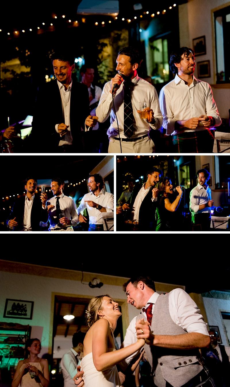 Sardinia Wedding Party