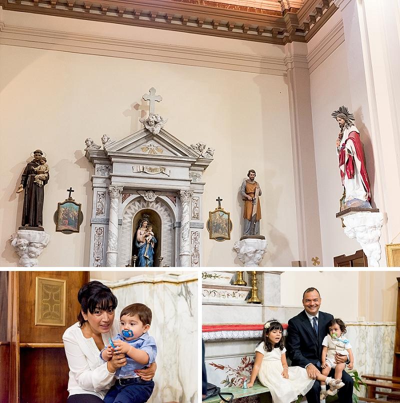 Church Santa Lucia Ozieri Sardinia