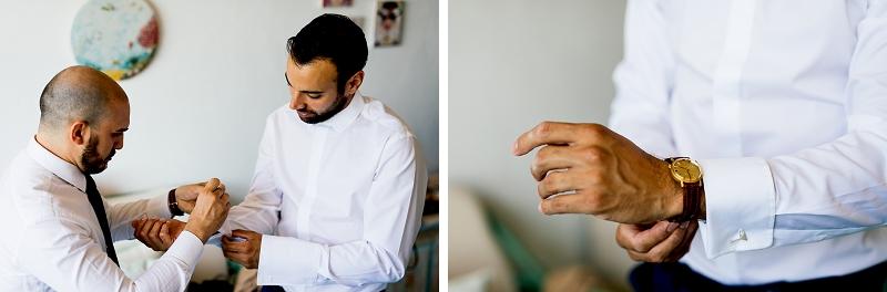 23 groom getting ready sardinia wedding
