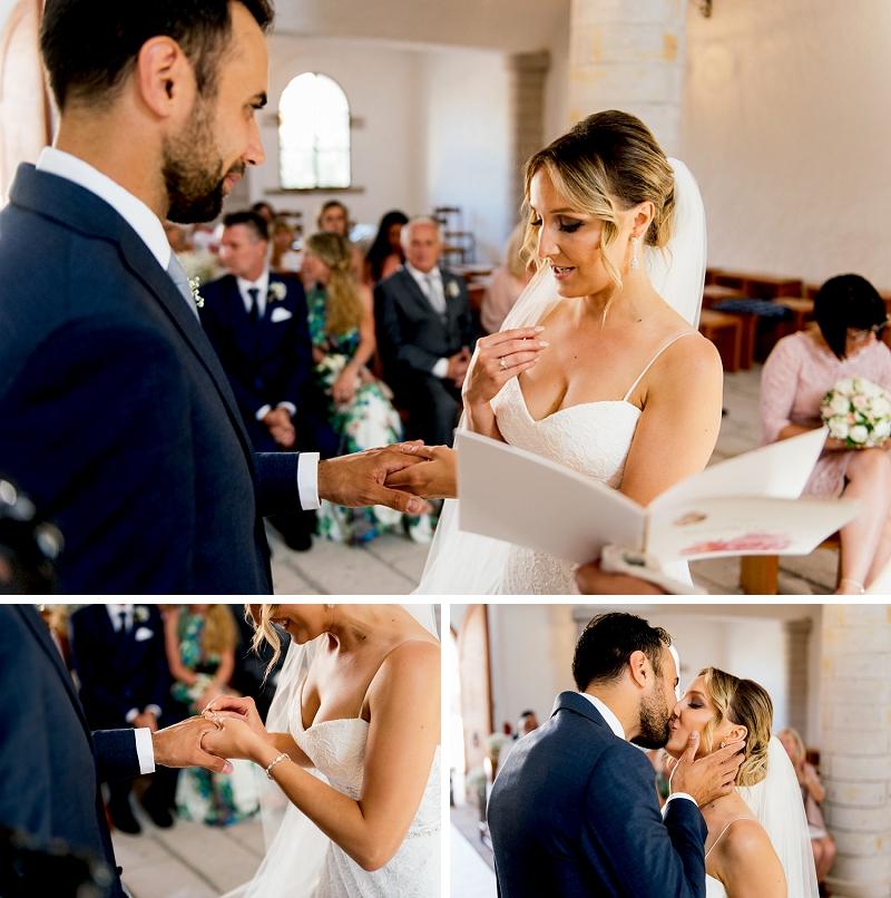 41 exchange rings wedding in sardinia