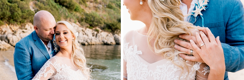 intimate wedding on the beach sardinia 15