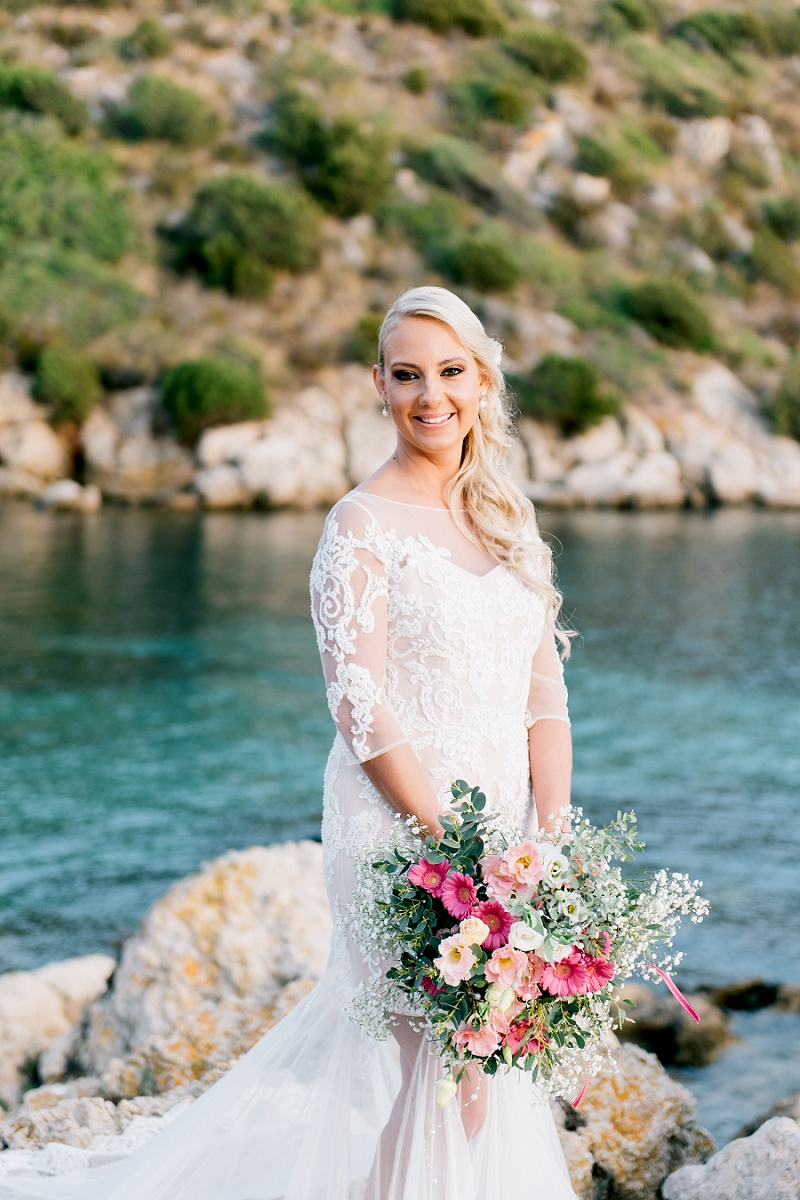 intimate wedding on the beach sardinia 19